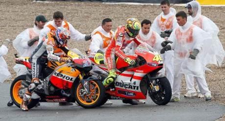 Rossi Vs Stoner Crash Motogp Jerez Marshall help 46 00 pertamax7.com