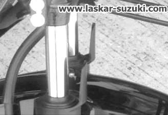 shock depan suzuki satria F injeksi pertamax7.com 2016