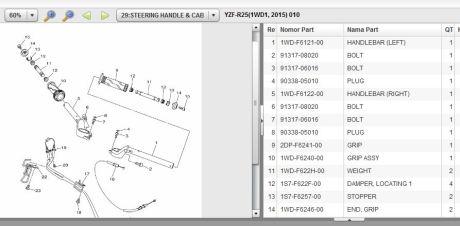 stang jepit yamaha R25 pertamax7.com