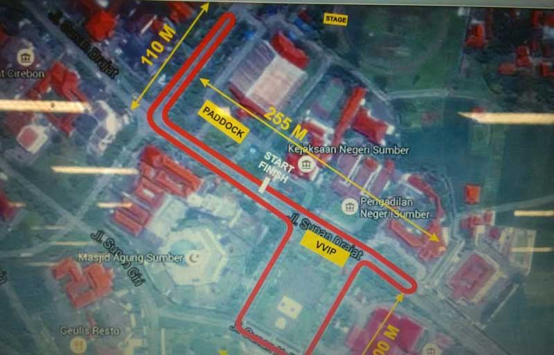 tampak sirkuit dari udara Ayo-Nonton-Yamaha-Cup-Race-Seri-6-Cirebon,-banyak-acara-seru-dan-Gratis-pertamax7.com-