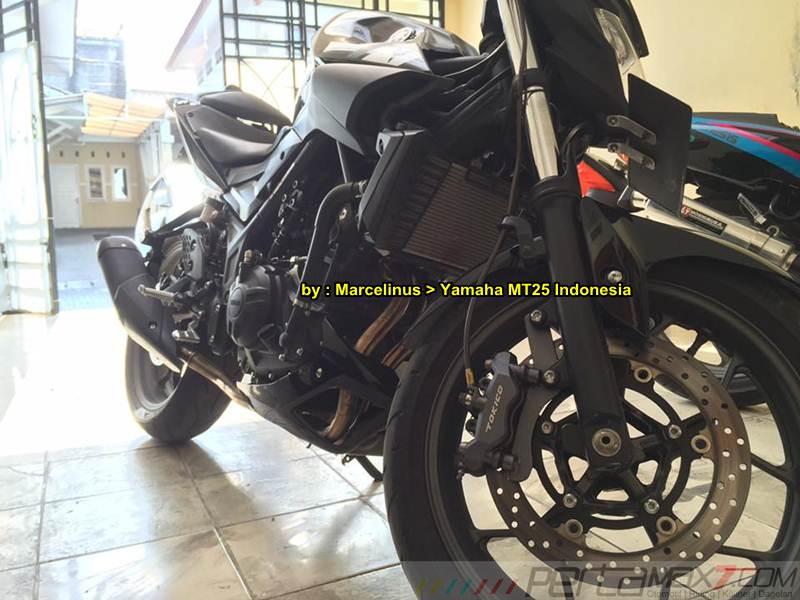 topspeed yamaha MT-25 tembus 199 Km per jam di jalan raya bandung pasopati  pertamax7.com