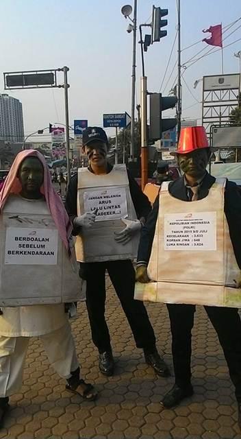 Unik, Ospek Depok Tiger Club ajak masyarakat Ingat keselamatan Berkendara 01 pertamax7.com