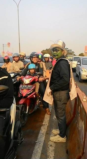 Unik, Ospek Depok Tiger Club ajak masyarakat Ingat keselamatan Berkendara 05 pertamax7.com