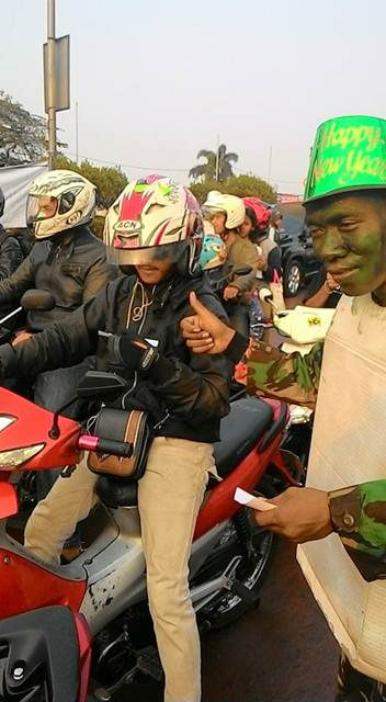 Unik, Ospek Depok Tiger Club ajak masyarakat Ingat keselamatan Berkendara 07 pertamax7.com