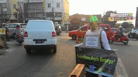 Unik, Ospek Depok Tiger Club ajak masyarakat Ingat keselamatan Berkendara 09 pertamax7.com