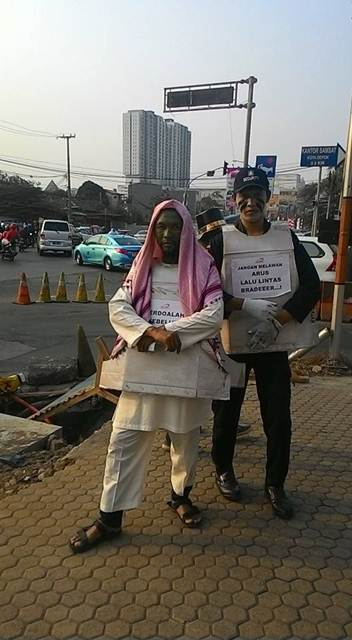 Unik, Ospek Depok Tiger Club ajak masyarakat Ingat keselamatan Berkendara 11 pertamax7.com