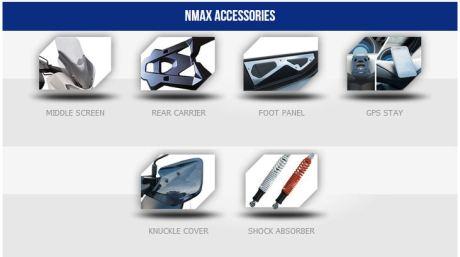 6 aksesoris resmi yamaha nmax 155 pertamax7.com