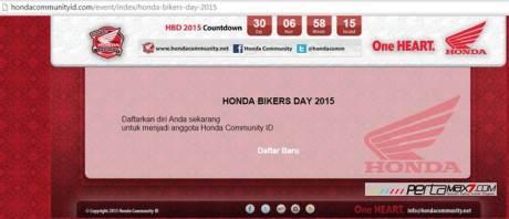 Ayo Daftar Online Honda Bikers Day 2015 di Pantai teleng ria Pacitan Jawa Timur pertamax7.com 0