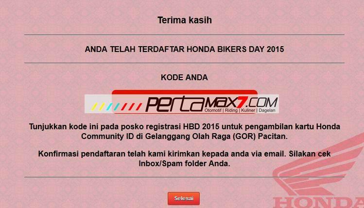 Ayo Daftar Online Honda Bikers Day 2015 di Pantai teleng ria Pacitan Jawa Timur pertamax7.com 6