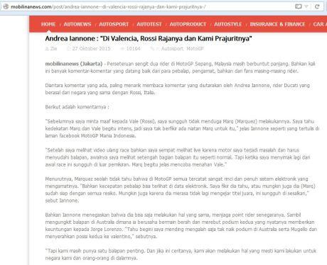 Benarkan Iannone akan Bantu Rossi di Final Motogp valencia 2015 pertamax7.com 3