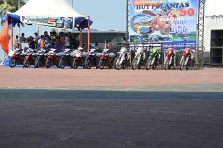 Bhayangkara Trail Adventure 5 kota Palu  berhadiah 12 motor Viar 02 pertamax7.com