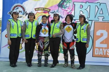 Bhayangkara Trail Adventure 5 kota Palu  berhadiah 12 motor Viar 04 pertamax7.com