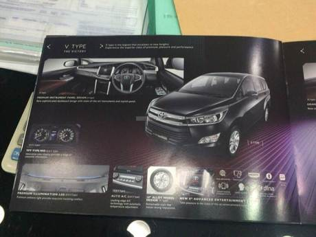 Brosur All New Toyota Kijang Innova Bocor di Internet pakai LED Projector headlamp 02 pertamax7.com