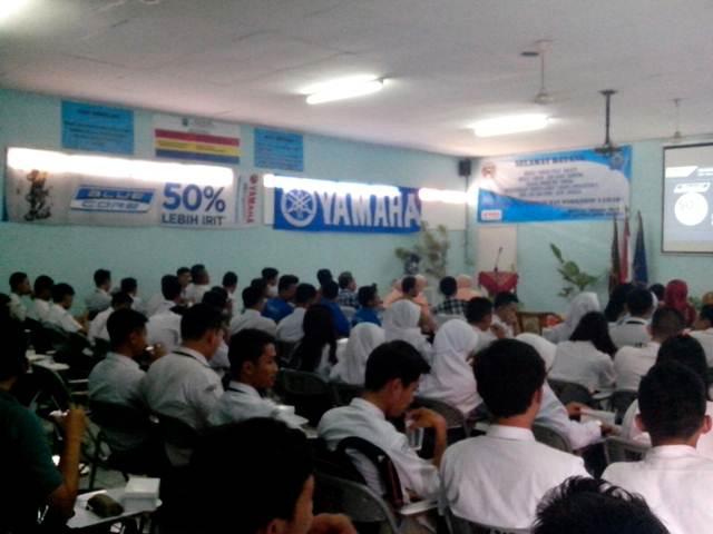 Edukasi teknologi Yamaha Blue Core di SMK Angkasa Bandung (3)