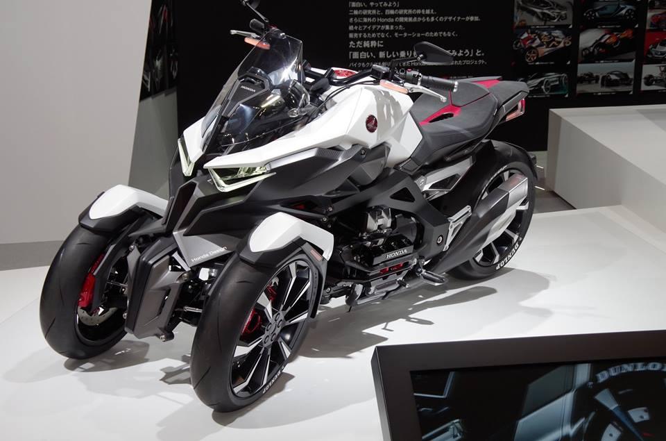 Ini dia Honda Neowing Concept, Motor Roda 3 Mesin Boxer Hybrid nan sangar 02 Pertamax7.com