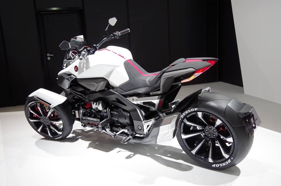 Ini Dia Honda Neowing Concept Motor Roda 3 Mesin Boxer 4