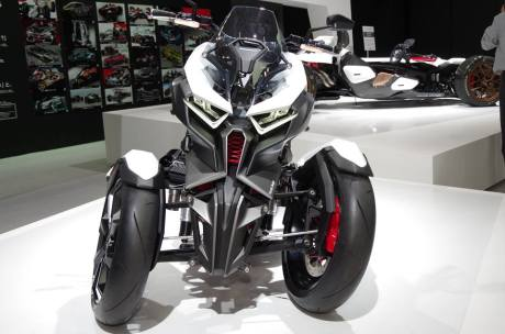 Ini dia Honda Neowing Concept, Motor Roda 3 Mesin Boxer Hybrid nan sangar 05 Pertamax7.com