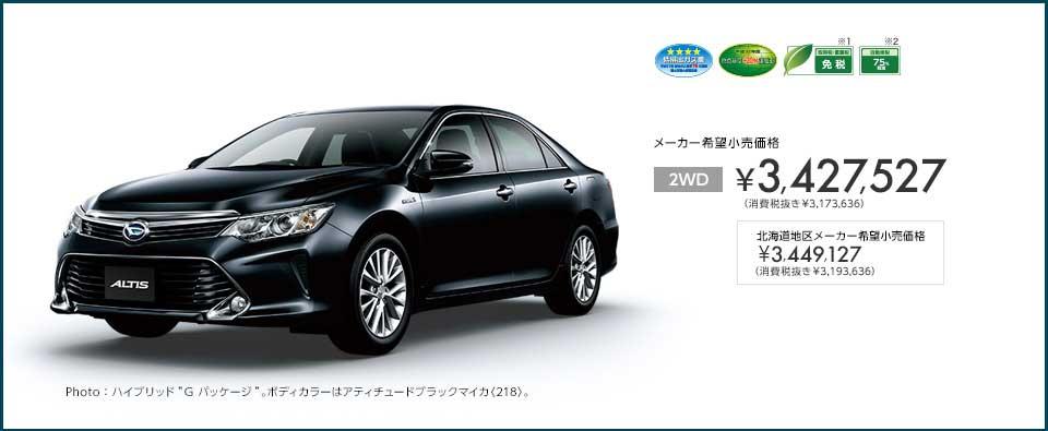 Intip Daihatsu Altis di Jepang, Irit tembus 23,4 KM per liter 02 Pertamax7.com