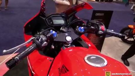 Intip Modifikasi Honda CBR500R 2016 Trackday Concept di AIMExpo 2015 12 Pertamax7.com
