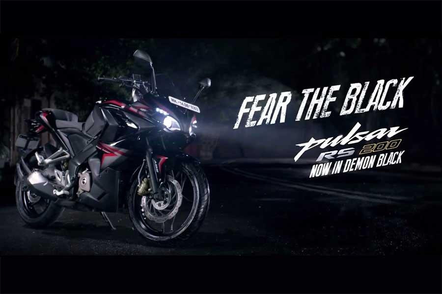 Intip Sangarnya Bajaj Pulsar RS200 Demon Black, Si hitam menatap tajam 10 Pertamax7.com