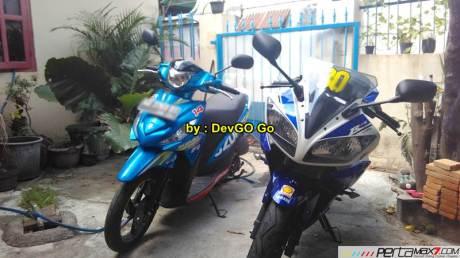 Kala Rider Yamaha R15 Pilih Suzuki Address Daya Angkut Mantabh 01 Pertamax7.com