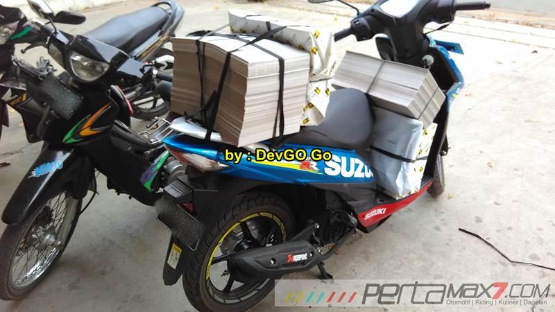 Kala Rider Yamaha R15 Pilih Suzuki Address Daya Angkut Mantabh 03 Pertamax7.com