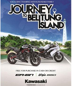 kawasaki-journey-track-belitung-Beli-Kawasaki-ER-6N-dan-ER-6F-berhadiah-Langsung-Turing-ke-Pulau-Belitung-pertamax7.com