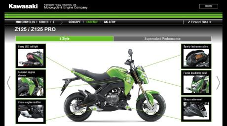 Kawasaki Z125 2016 Capture Pertamax7.com