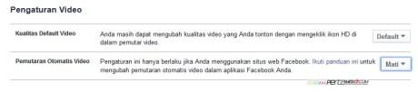 matikan pemutaran otmatis video facebook pertamax7.com