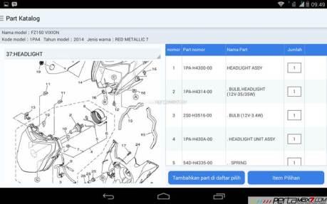 Mencoba Aplikasi Android Yamaha PartsCatalogue buat cek spare parts 08 pertamax7.com