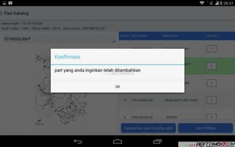 Mencoba Aplikasi Android Yamaha PartsCatalogue buat cek spare parts 10 pertamax7.com