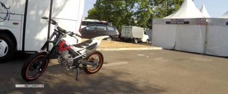 Modifikasi New Honda Sonic 150r Jadi Motor Trial Ini Memang Sadis 02 Pertamax7.com