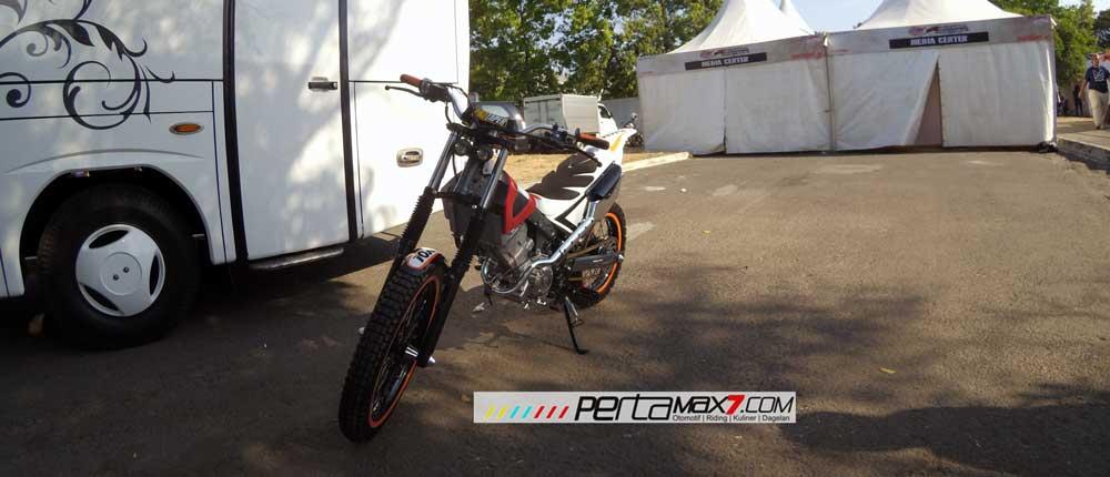 Modifikasi New Honda Sonic 150r Jadi Motor Trial Ini Memang Sadis 03 Pertamax7.com