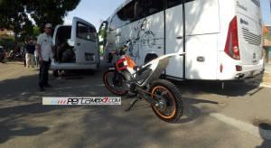 Modifikasi New Honda Sonic 150r Jadi Motor Trial Ini Memang Sadis 06Pertamax7.com