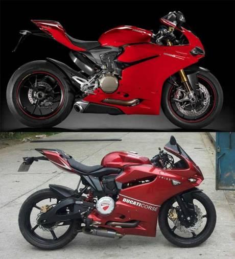 Modifikasi Yamaha SZ-R jadi Ala Ducati Panigale asal Filipina ini Unik 01 Pertamax7.com
