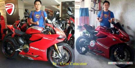 Modifikasi Yamaha SZ-R jadi Ala Ducati Panigale asal Filipina ini Unik 11 Pertamax7.com