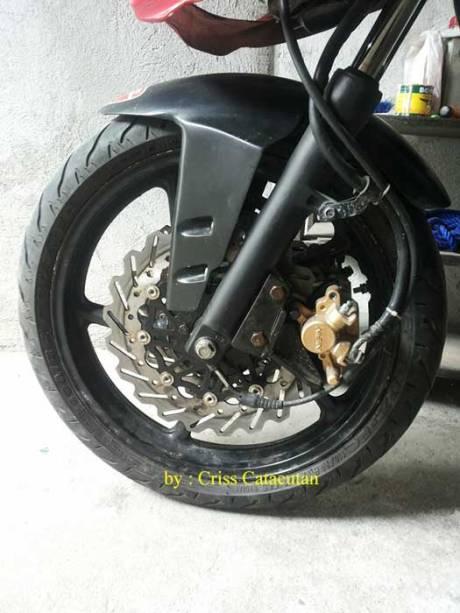 Modifikasi Yamaha SZ-R jadi Ala Ducati Panigale asal Filipina ini Unik 13 Pertamax7.com