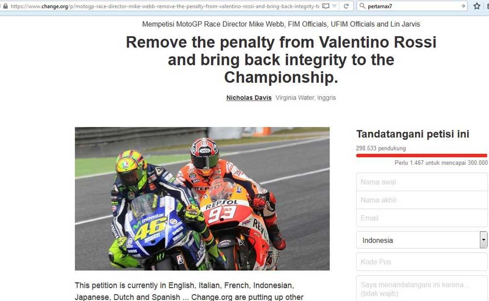 Muncul-Petisi-untuk-Cabut-Pinalti-dari-Valentino-Rossi-1-pertamax7.com