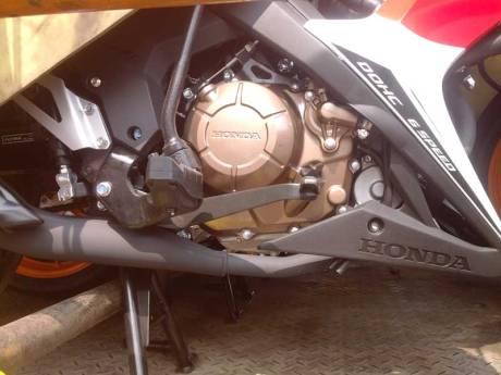 New Honda Sonic Repsol Racing sudah Sampai Jogja, mesin warna emas Siap di Launching 01 Pertamax7.com
