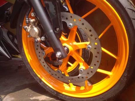 New Honda Sonic Repsol Racing sudah Sampai Jogja, mesin warna emas Siap di Launching 02 Pertamax7.com