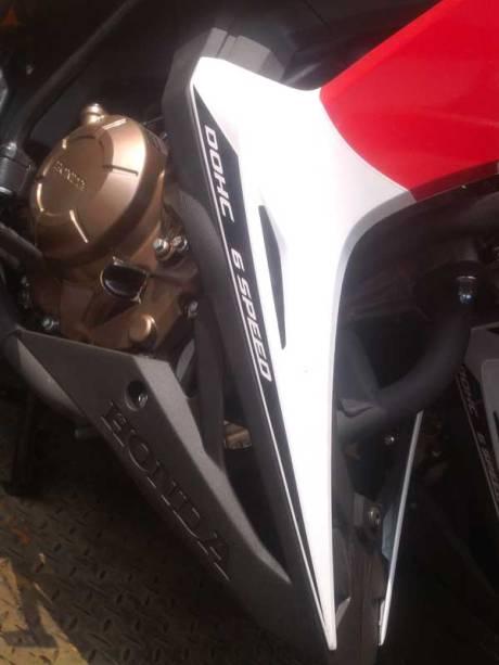 New Honda Sonic Repsol Racing sudah Sampai Jogja, mesin warna emas Siap di Launching 06 Pertamax7.com