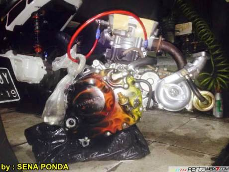 Pasang Turbo Charger Honda CB150R pakai Ecotrons RHB31 VZ21... cesssss 00 pertamax7.com