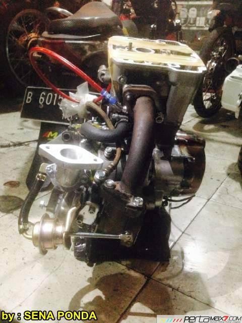 Pasang Turbo Charger Honda CB150R pakai Ecotrons RHB31 VZ21... cesssss 01 pertamax7.com