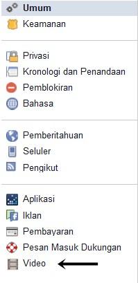 pengaturan video putar otomatif facebook pertamax7.com