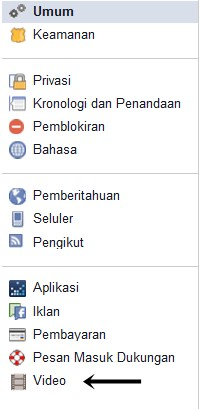 pengaturan video putar otomatif facebook pertamax7.com