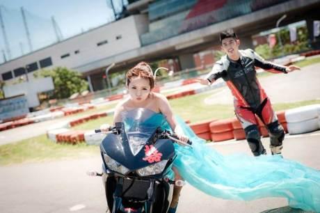 Pre Wedding Pakai Yamaha R3 ini bisa buat inspirasi 01 pertamax7.com