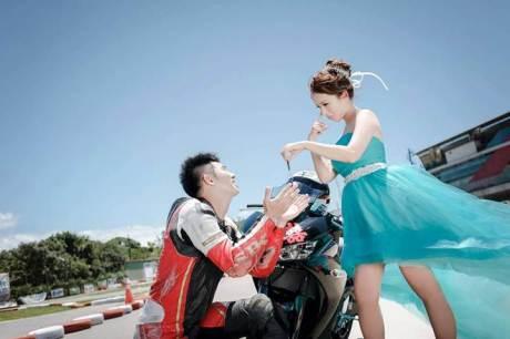 Pre Wedding Pakai Yamaha R3 ini bisa buat inspirasi 03 pertamax7.com