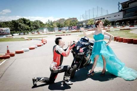 Pre Wedding Pakai Yamaha R3 ini bisa buat inspirasi 04 pertamax7.com