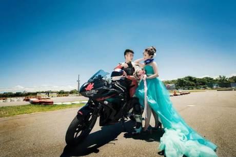 Pre Wedding Pakai Yamaha R3 ini bisa buat inspirasi 07 pertamax7.com