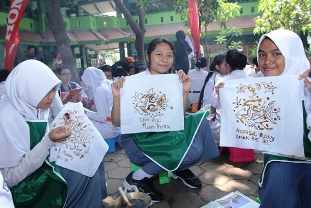 PT. AHM Gelar Program Sahabat Satu Hati Membatik serta 700 biker Honda  Cintai Batik Indonesia 01 pertamax7.com